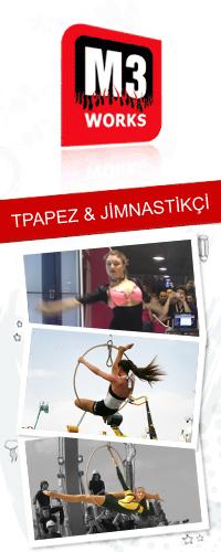 trapez jimnastikci