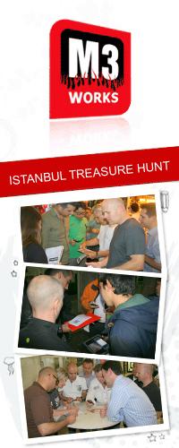 istanbul treasure hunt